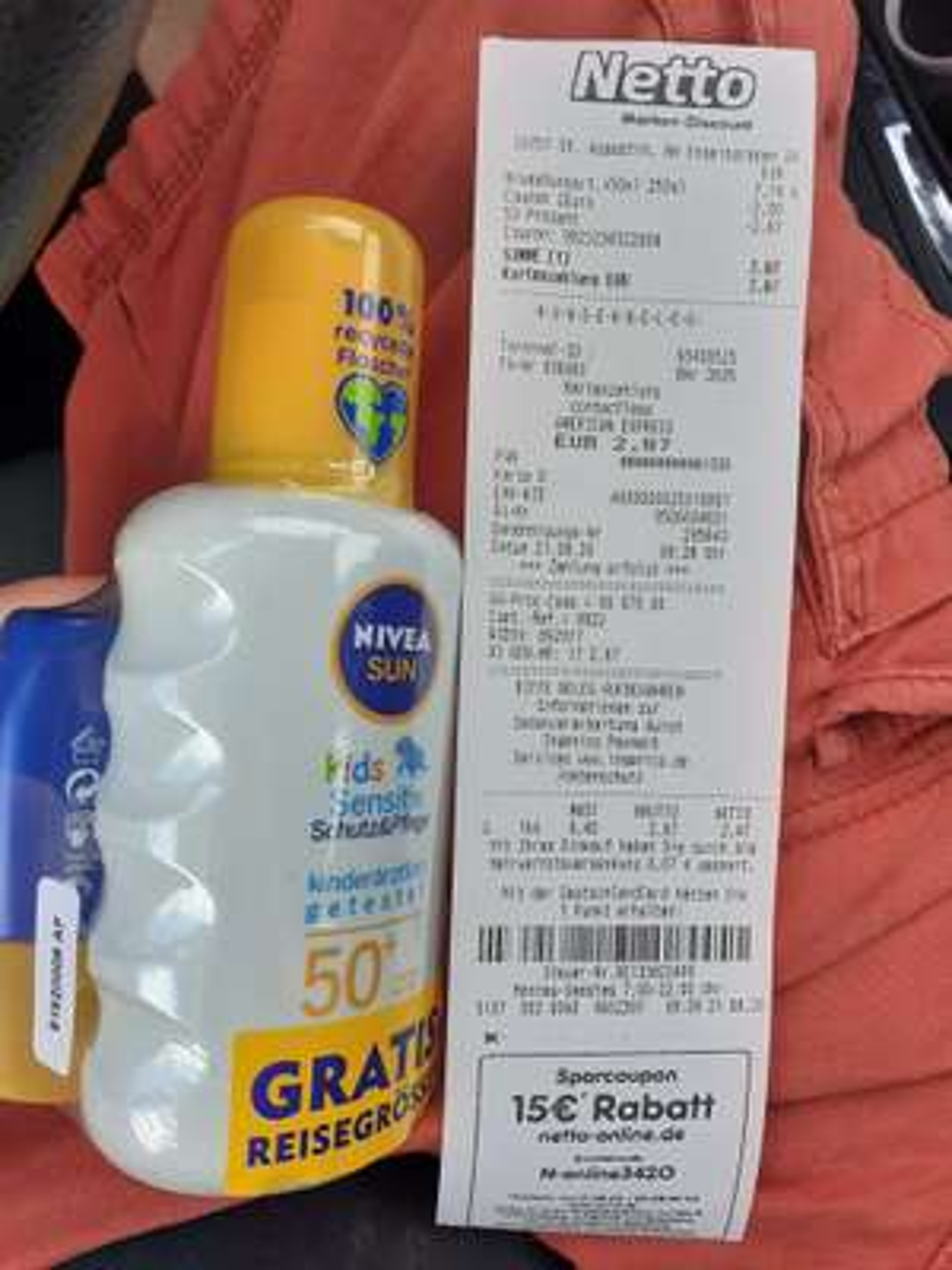 Nur heute! Nivea Sun Sonnencreme mit Coupon bei Netto für 2,87€