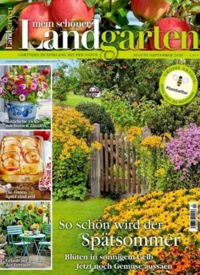 Gartenzeitschriften Abo mit Rabatt: Mein schönes Land 16€, Mein schönes Landhaus 15,84€, Mein schöner Landgarten 15,84€, Liebes Land 14,40€