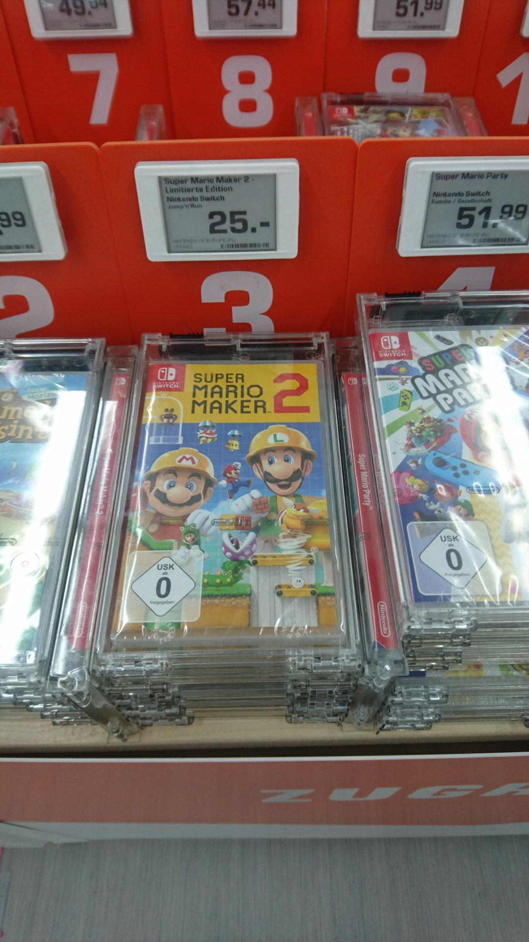 (Lokal Saturn Koblenz Bubenheim) Super Mario Maker 2 für Nintendo Switch