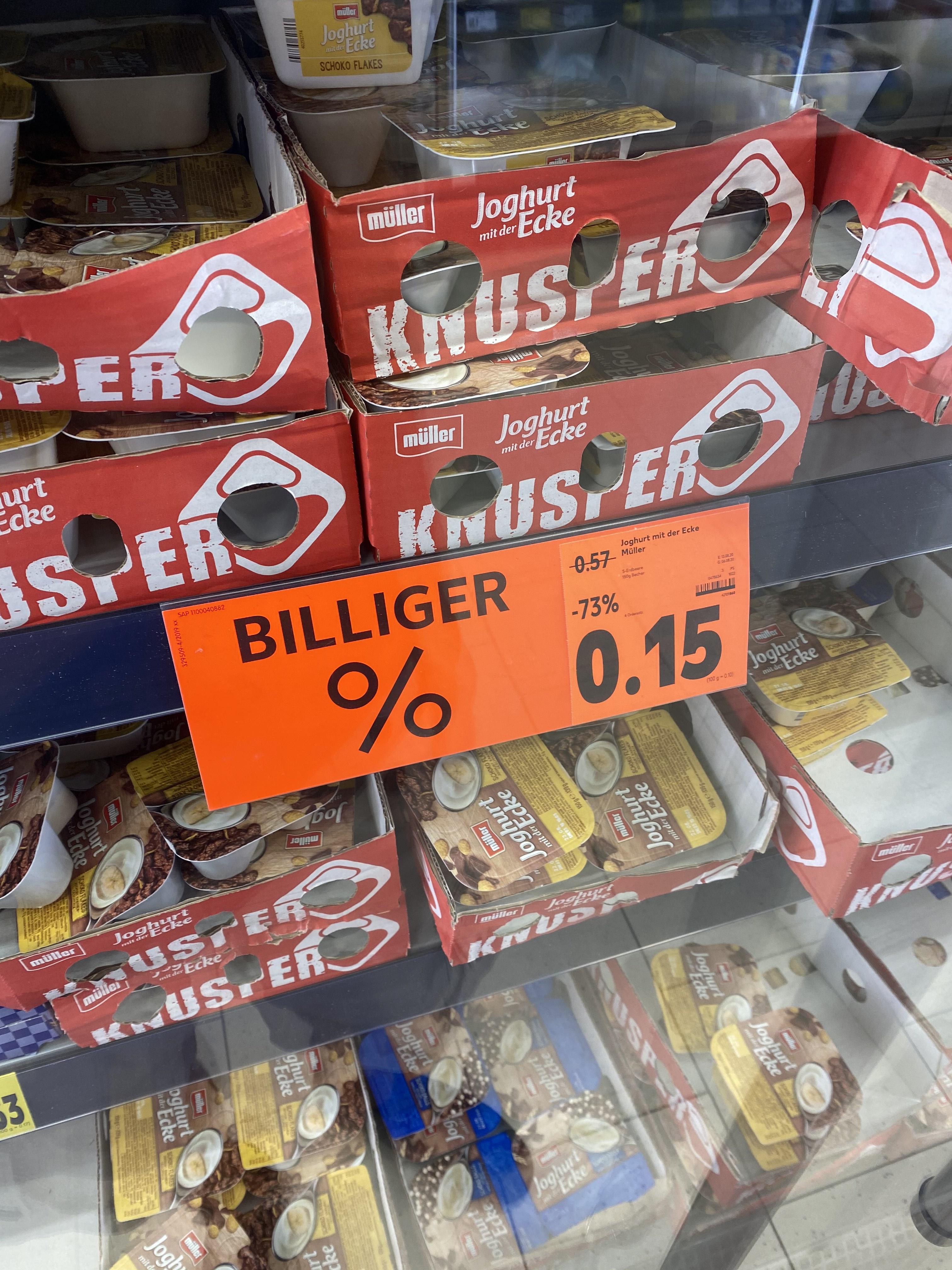 [Lokal Kaufland Leer] Joghurt mit der Ecke - 0,15€