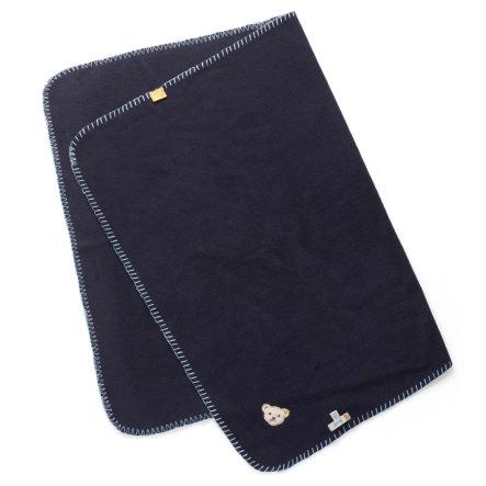 Steiff Decke black iris (Material: 60% Polyester, 40% Viskose, Maße: ca. 95 x 65 cm) für 22,94€