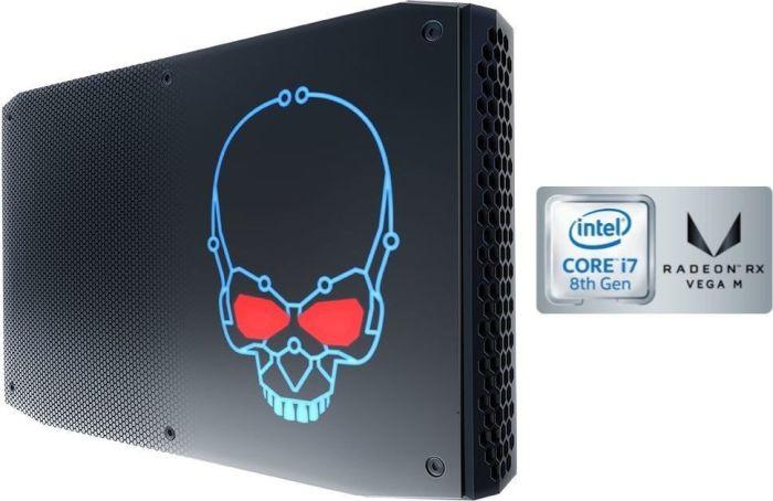 Intel Performance Week: z.B. Intel NUC Kit NUC8i7HVK (Core i7-8809G mit Vega M 4GB, 2x DDR4, 2x M.2, HDMI 2.0, 2x Mini DP 1.2, 2x TB3)