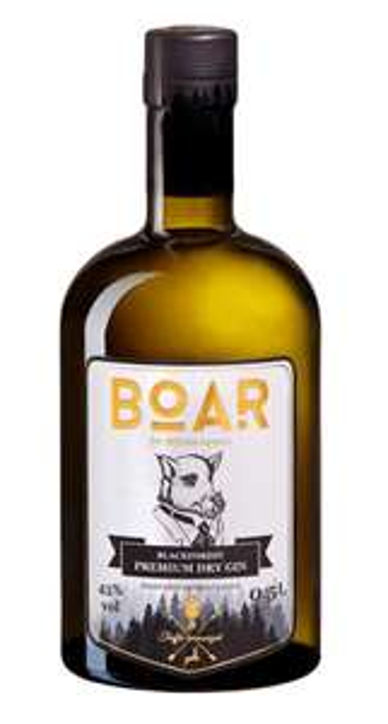 Boar Black Forest Premium Dry Gin harmonisiert mit Trüffel aus dem Schwarzwald | 43 % vol | 0,5 l