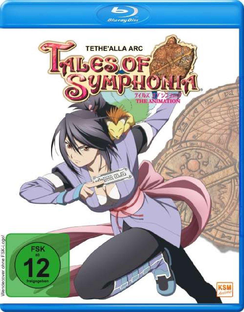 Tales of Symphonia - Tethe'alla Arc 4 OVAs (Blu-ray) für 4,25€ (Müller Abholung)