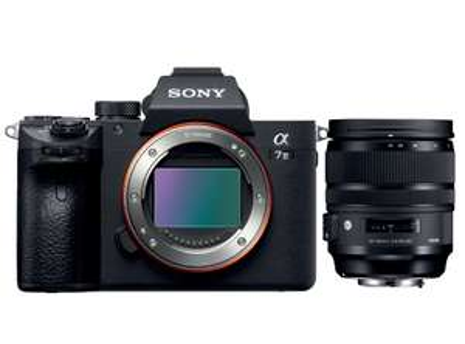 Sony Alpha 7 iii + Sigma 24-70 / 2.8 ART // Tamron (2427€)