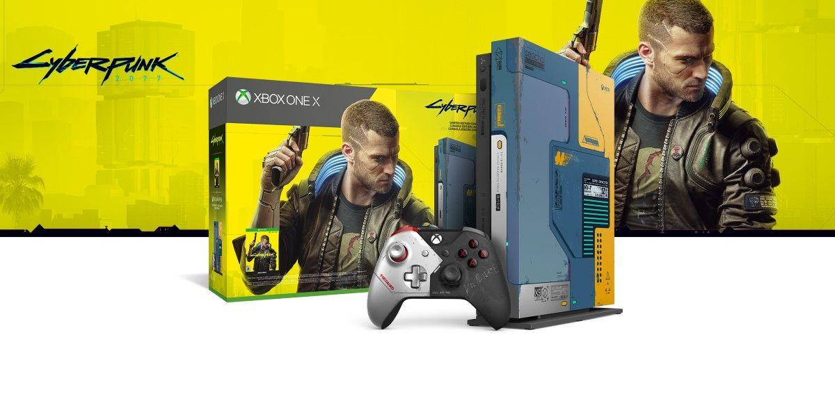 Xbox One X Cyberpunk Edition für 298,36 Euro bei Otto!