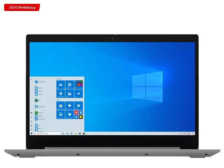 """Lenovo IdeaPad 3 (15,6"""" TN Display, Intel Core i5-1035G1, 8 GB RAM, 512 GB SSD, Win10 Home)"""