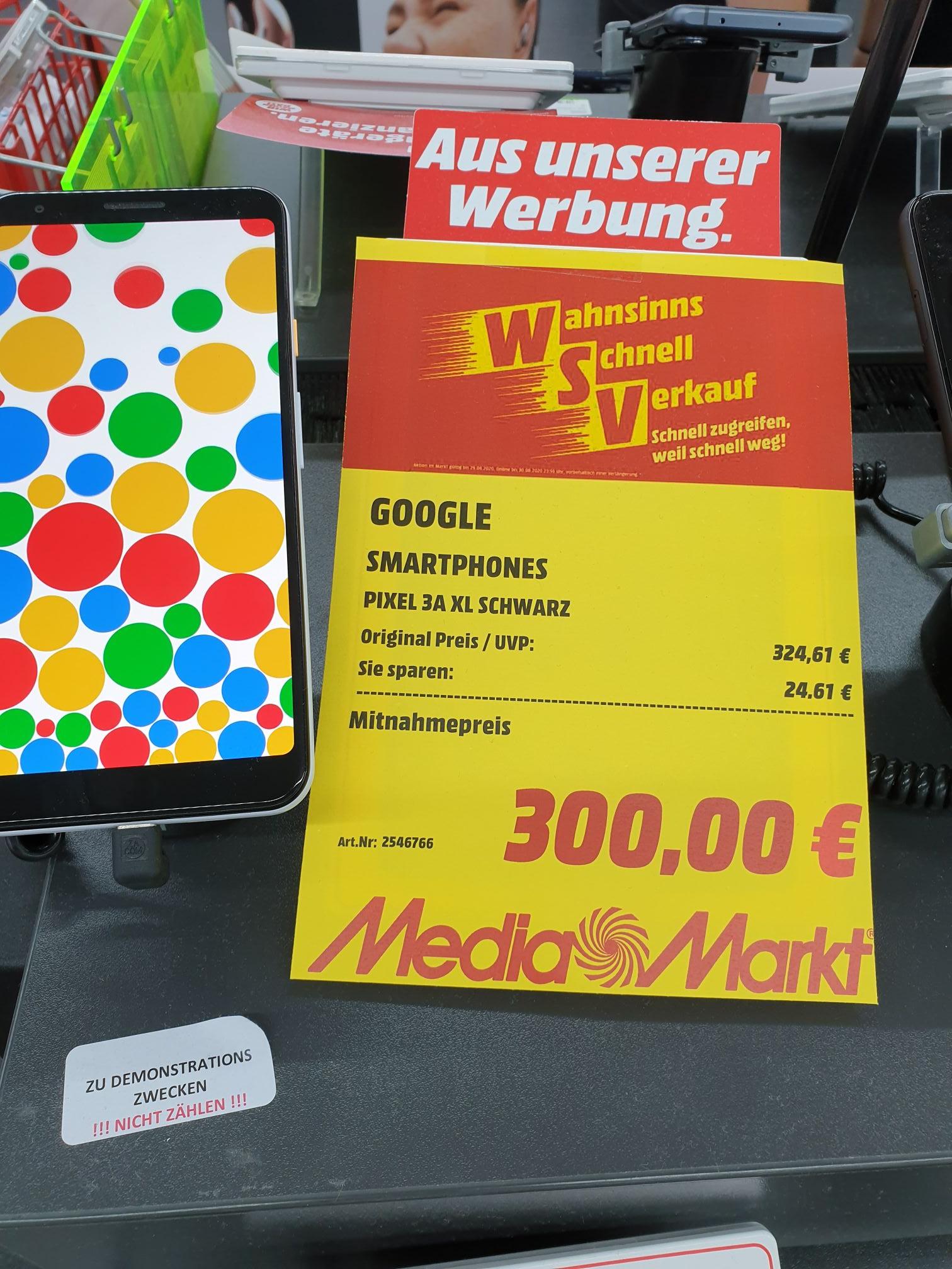 (Lokal Lüneburg) Google Pixel 3a XL für 300€