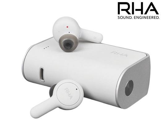 """RHA Bluetooth-In-Ear-Kopfhörer """"TrueConnect"""" (Wasserfest, IPX5, Bis zu 25 Stunden Akkulaufzeit, Schnellladefunktion) [iBOOD]"""