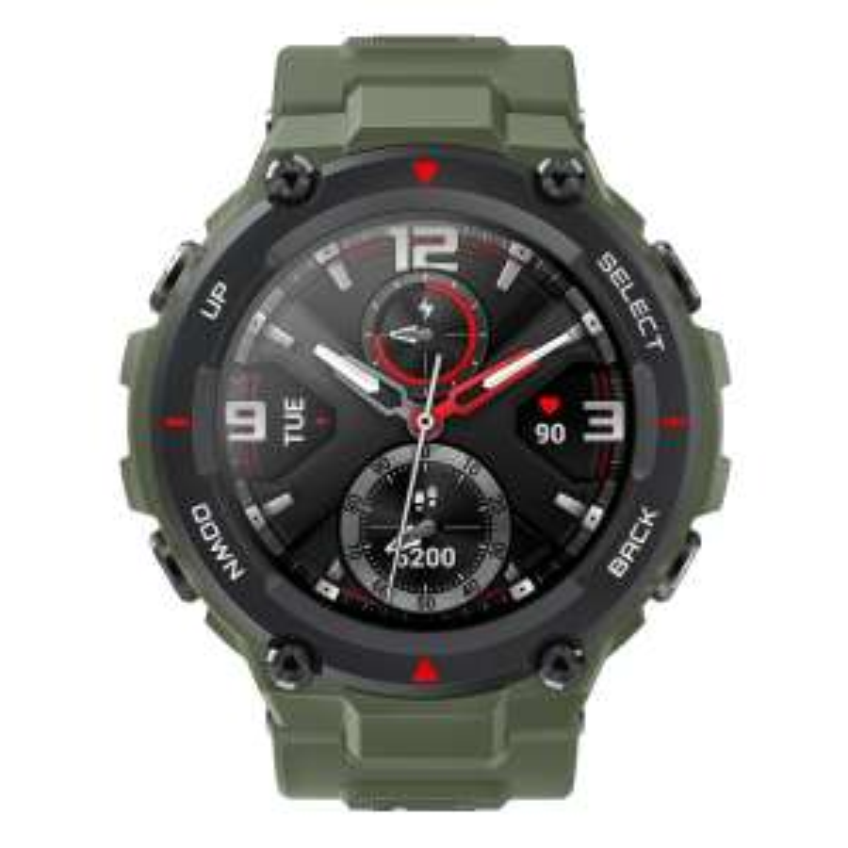 "Huami Amazfit T-Rex Army Green[3,3cm (1,3"") OLED Display, Bluetooth 5.0, 5 ATM] [NBB["