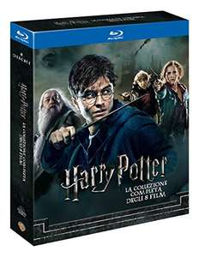Harry Potter Complete Collection (8 Blu-Rays) inkl. deutscher Tonspur