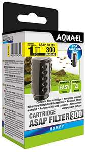 Aquael 5905546196345 Standard Kartusche Für Filter ASAP Für Aquarien 300 (Prime)