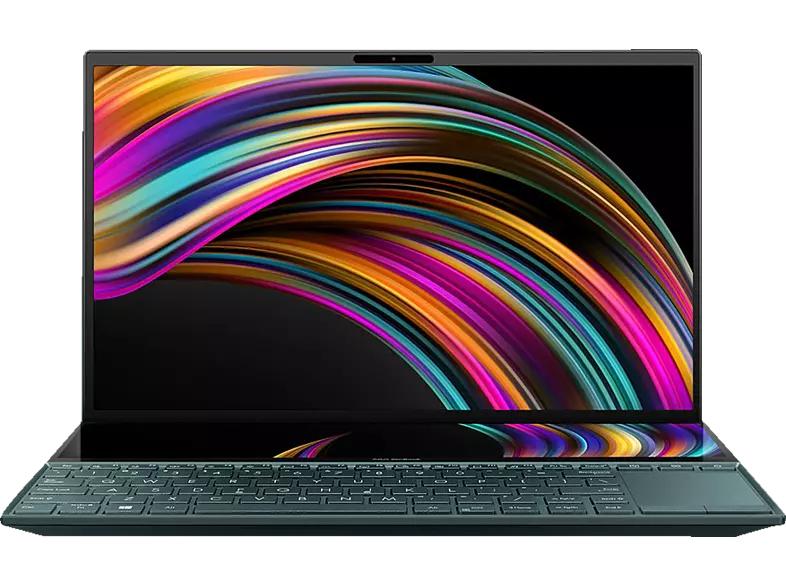 ASUS ZenBook Duo 14 (14 Zoll IPS matt, ScreenPad Plus, I7 10510U, 16 GB RAM, 512 GB SSD, Windows 10 Home)
