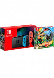 Nintendo Switch + Nintendo Ring Fit Adventure im Telekom Congstar Allnet Flat M für 19,50€ monatlich und 15€ einmalig