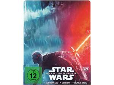 Star Wars 9 - Der Aufstieg Skywalkers 3D + 2D Blu-ray Steelbook für 15,00 €, normale Blu-ray für 9,97 €