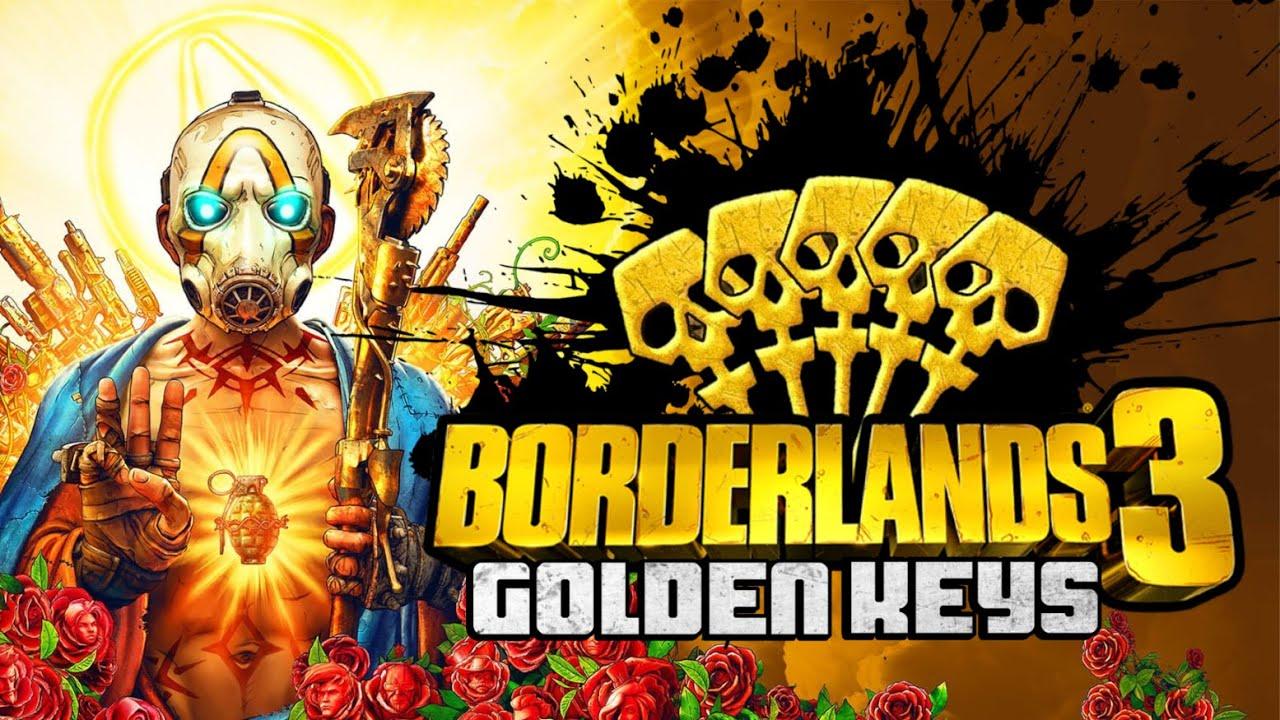 [Alle Plattformen] Borderlands 3 - 3 goldene Schlüssel