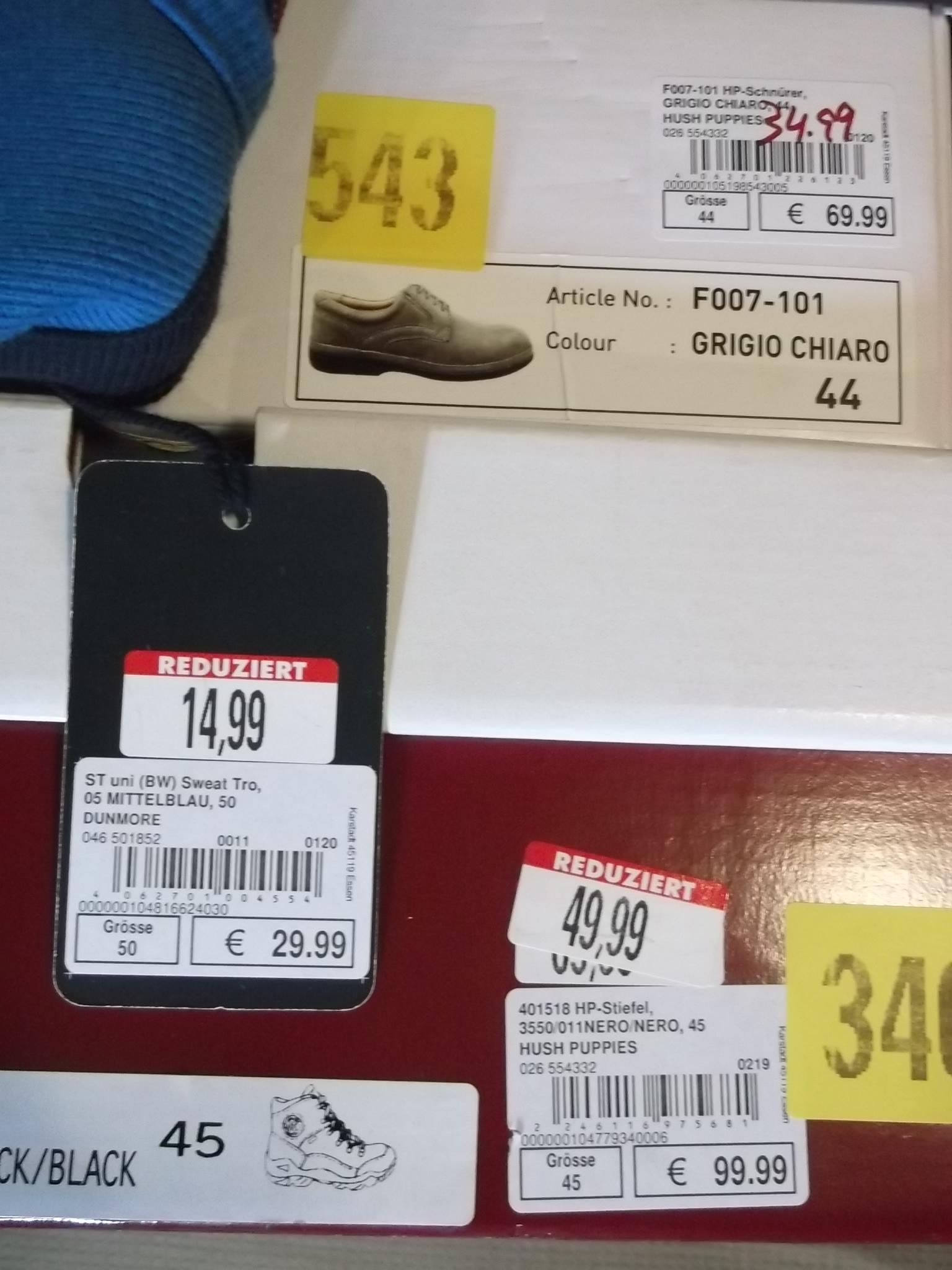 [OFFLINE] Galeria -50% auf bereits reduziertes in Herrenabteilung (auch Schuhe) auf bestimmte Marken