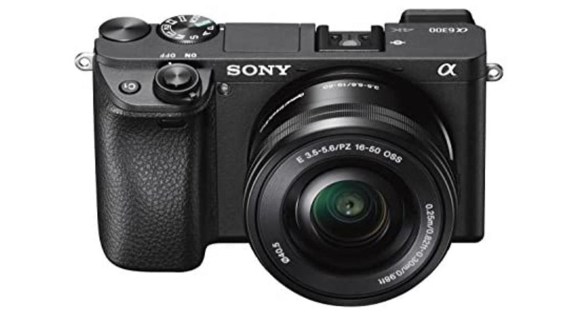 Sony Alpha 6300 E-Mount Systemkamera (24 Megapixel, 7,5 cm (3 Zoll) Display, XGA OLED Sucher, L-Kit 16-50 mm
