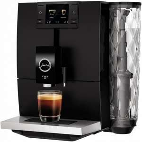 [Euronics] JURA ENA 8 Full Metropolitan Black Kaffee-Vollautomat schwarz