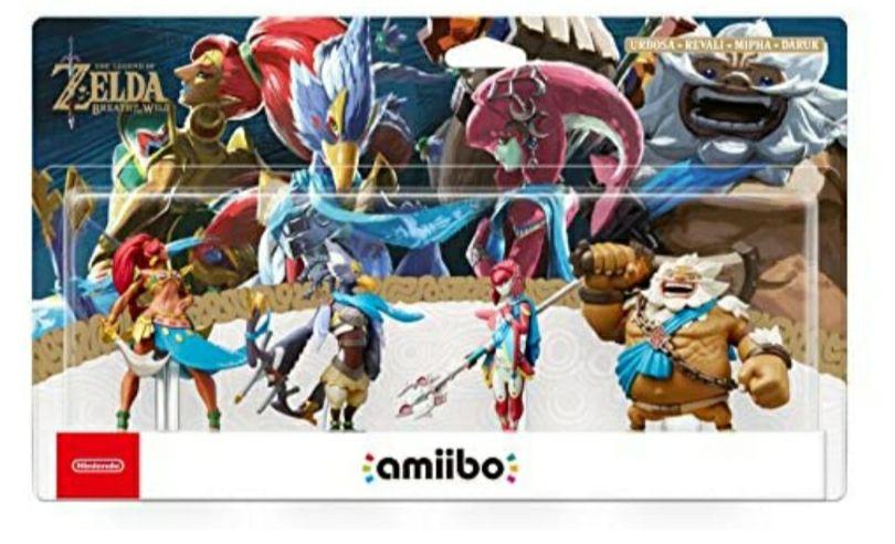 Zelda BotW Amiibo Recken Set