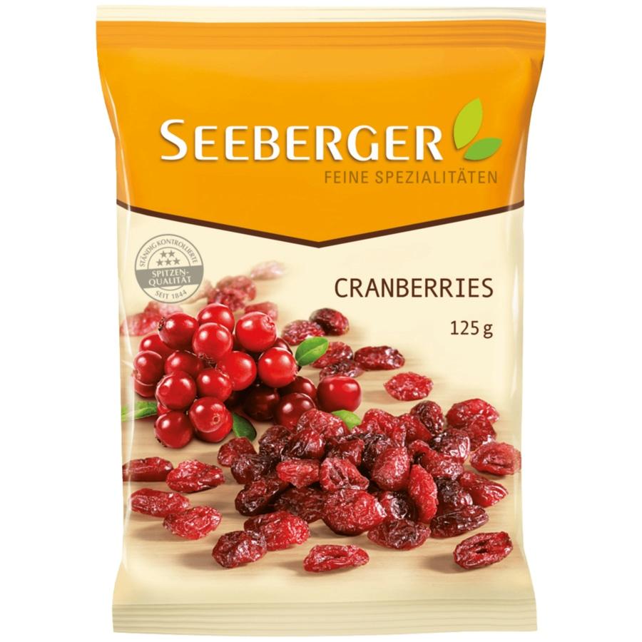 Seeberger Cranberries 125g für nur 0,91€ [KAUFLAND]
