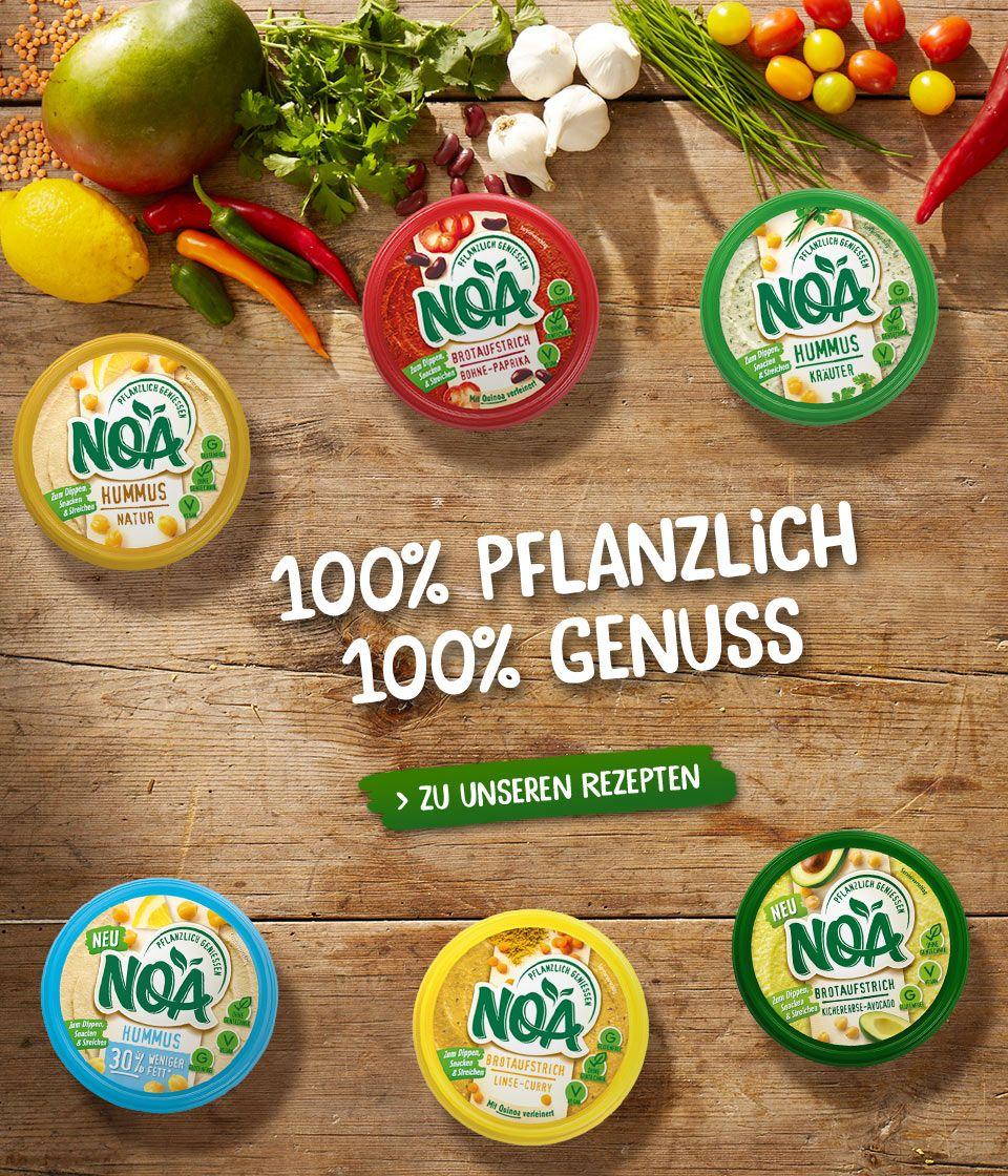 [Marktkauf] Noa Pflanzlicher Brotaufstrich oder Hummus für nur 0,95€ statt 1,97€ | Freebie dank Couponaktion möglich