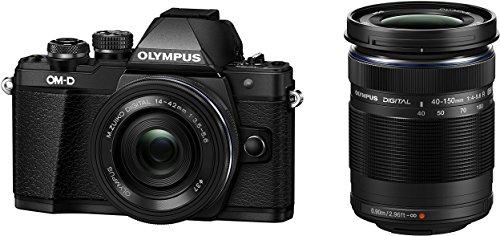 Olympus OM-D E-M10 Mark ii inkl 14-42 & 40-150 Objektiv black