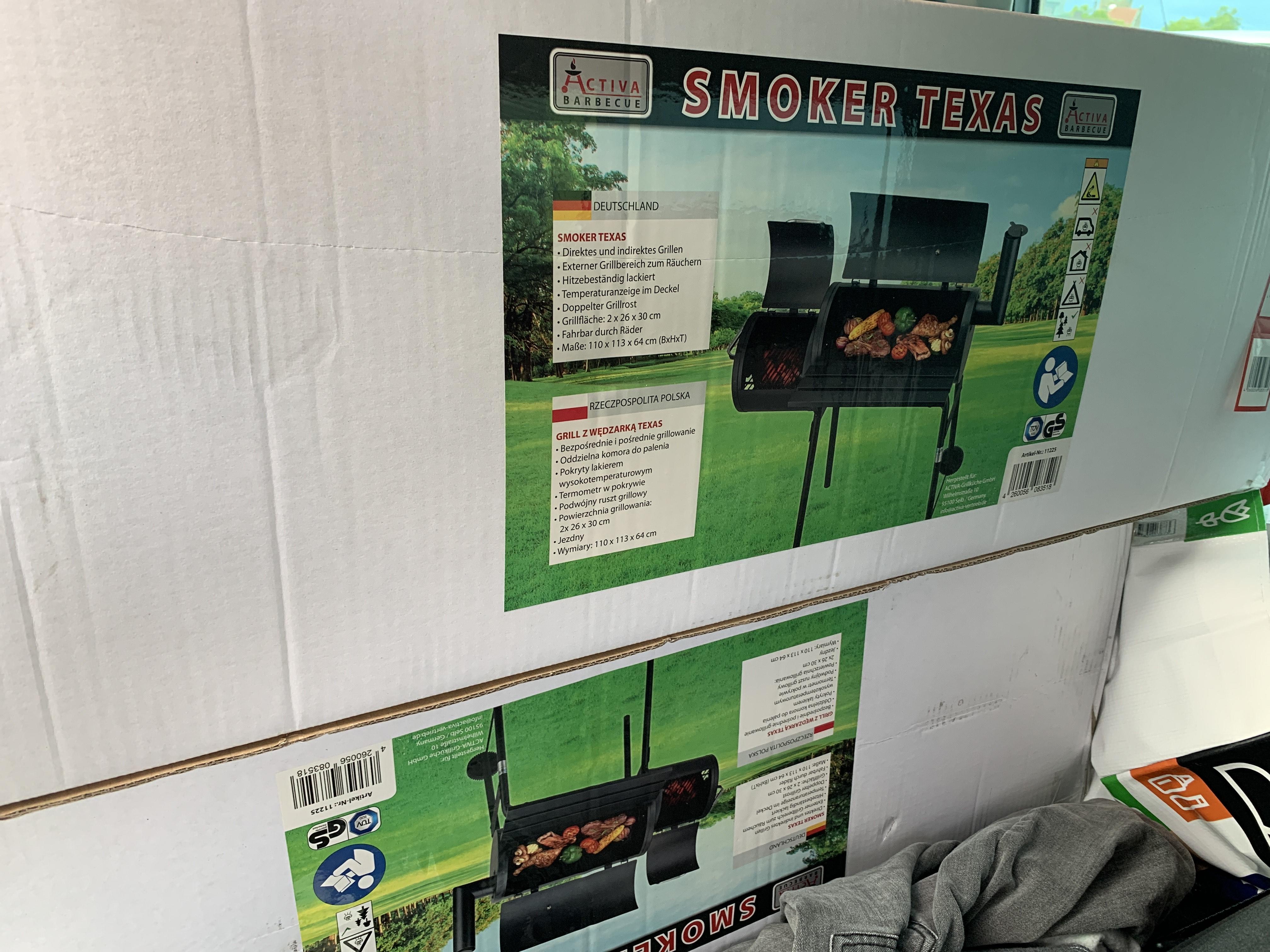 Activa Smoker Texas - Grill Lokal Kaufland Hattingen