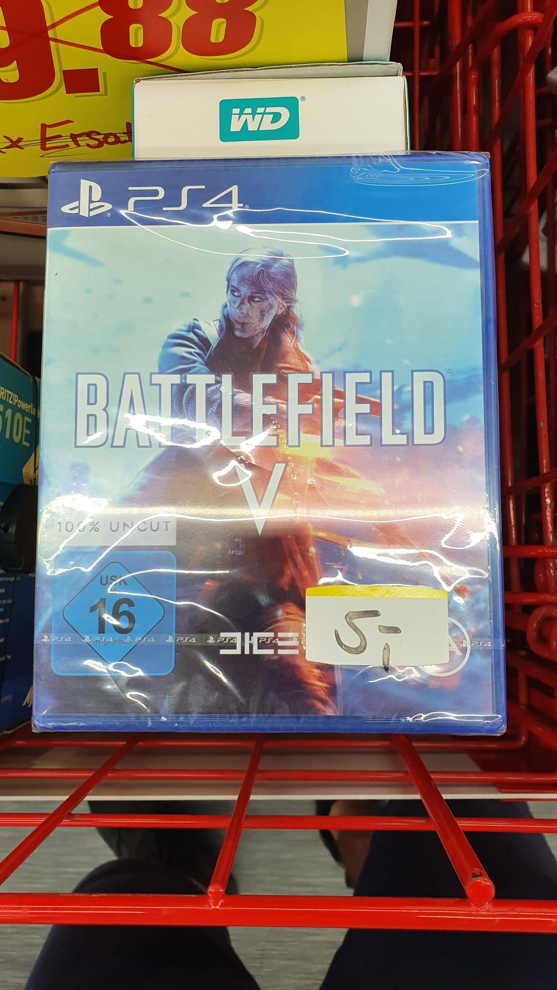 [PS4] Battlefield V für 5€ Mediamarkt [Stadtgalerie Schweinfurt]