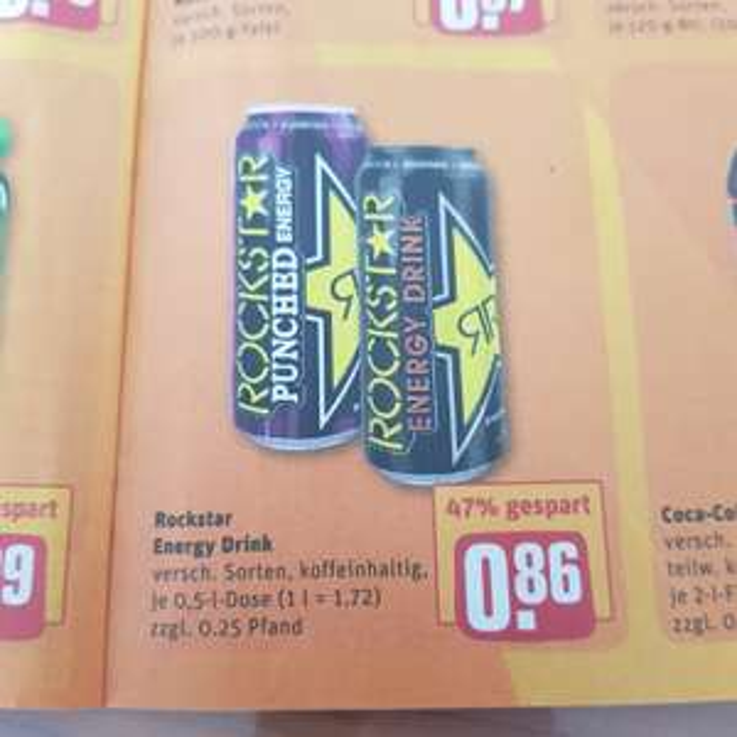 REWE: Rockstar Energy 0,86€