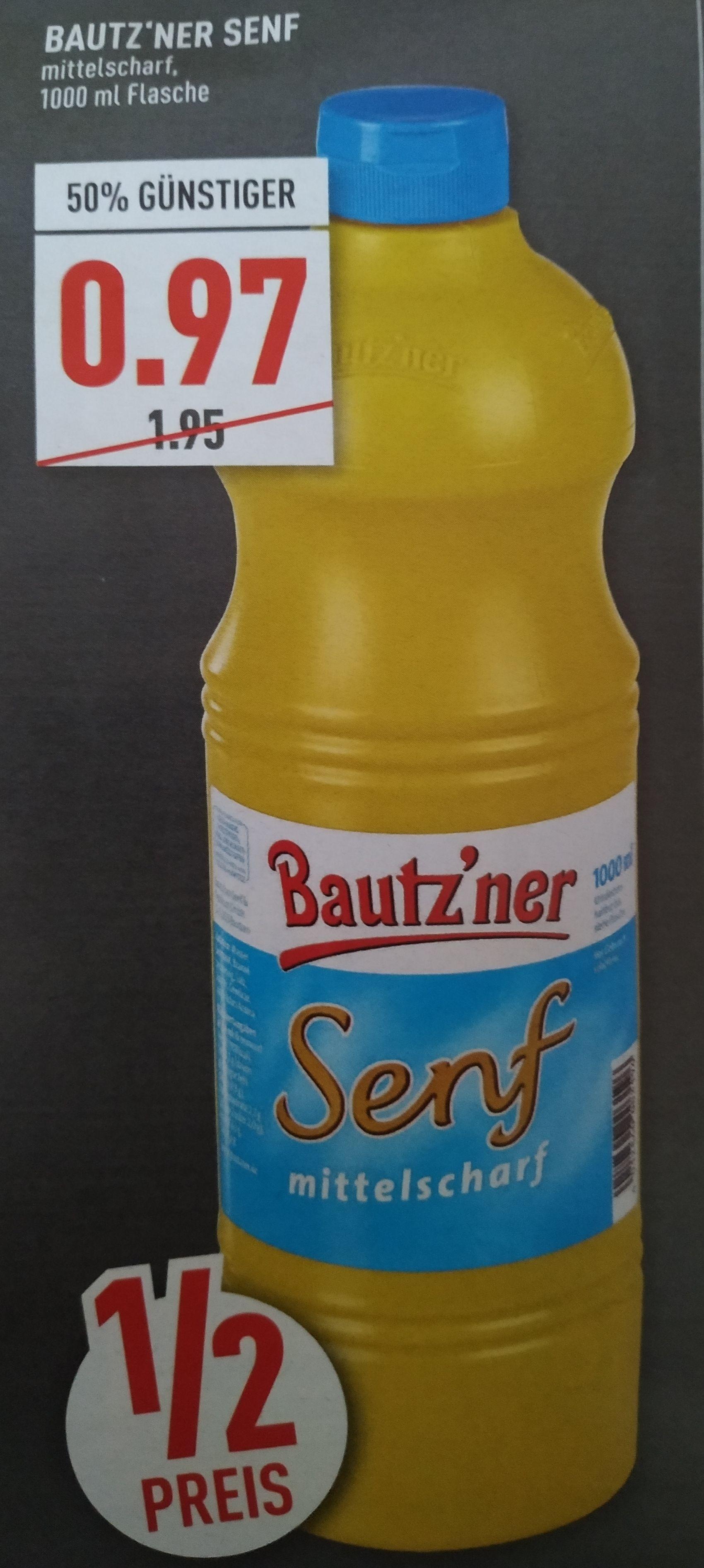 Bautz'ner Senf 1Liter (Marktkauf, vielleicht Bundesweit?)