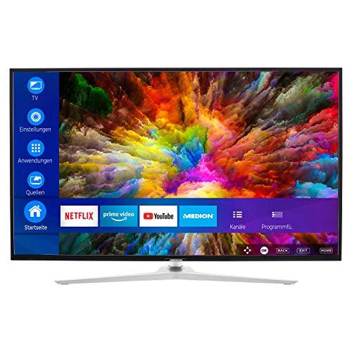 MEDION X14330 108 cm (43 Zoll) UHD Fernseher (Smart-TV, 4K Ultra HD, Dolby Vision HDR, Micro Dimming, MEMC, Netflix, Prime Video) [Amazon]