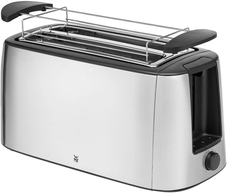 WMF Bueno Pro Toaster Langschlitz, 4er Toaster-Doppelschlitz, XXL-Toast, Aufwärm-Funktion, 6 Bräunungsstufen für 48,75€ (Müller Abholung)