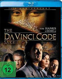 The Da Vinci Code - Sakrileg Kinofassung (10th Anniversary Edition Blu-ray) für 3,60€ (Amazon Prime)