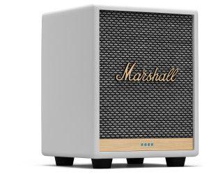 Marshall Uxbridge VOICE Alexa Multi-Room-Lautsprecher weiß WLAN Bluetooth [Cyberport]