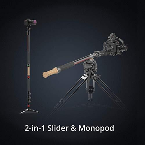 MOZA Slypod 2-in-1-Einbeinstativ und Schieber
