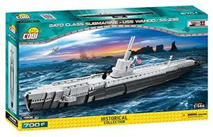 COBI Historical Collection 4806 - Gato Class Submarine-USS WAHOO/SS238, U-Boot, Bausatz für 24,96€ (Amazon Prime & Saturn Abholung)