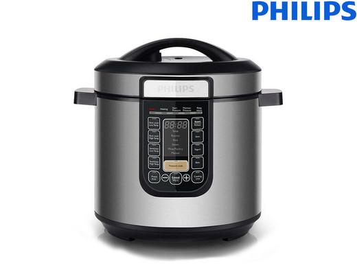"""Philips Dampfkochtopf """"Viva Collection HD2137/78"""" (6 Liter Fassungsvermögen, 1000 W) [iBOOD]"""