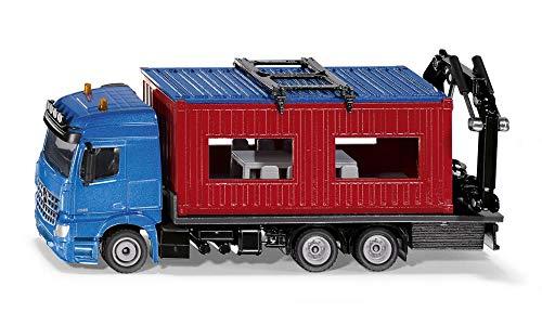 SIKU, LKW mit Baucontainer, 1:50, Metall/Kunststoff inkl. Kran zum Abnehmen des Containers für 18,53€ (Amazon Prime & Media Markt Abholung)