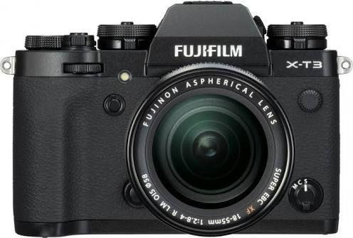 Fujifilm X-T3 Systemkamera inkl. Fujinon XF18-55F2,8-4 Objektiv - Vorbestellung