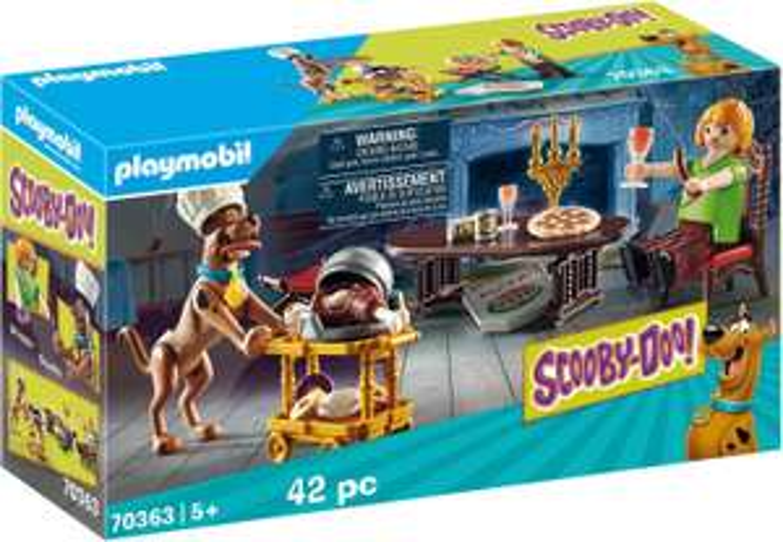 Playmobil SCOOBY-DOO! Abendessen mit Shaggy (70363) für 11,70€ (Müller Abholung)