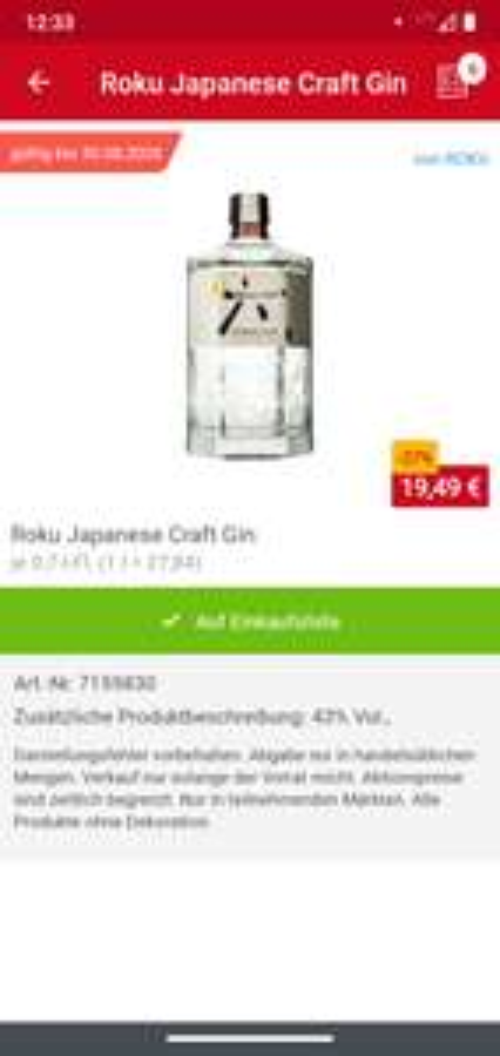 [LOKAL] Roku Japanese Craft Gin