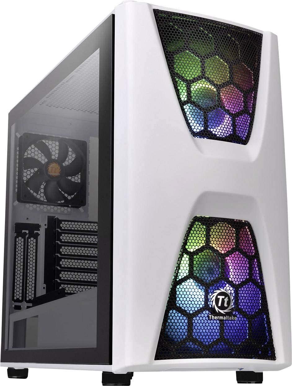 [Vorbestellung] Thermaltake Commander C34 ARGB Snow Edition (57l, ATX, 2x 200mm RGB-Lüfter vorne, 120mm hinten, Glasfenster, LED-Steuerung)