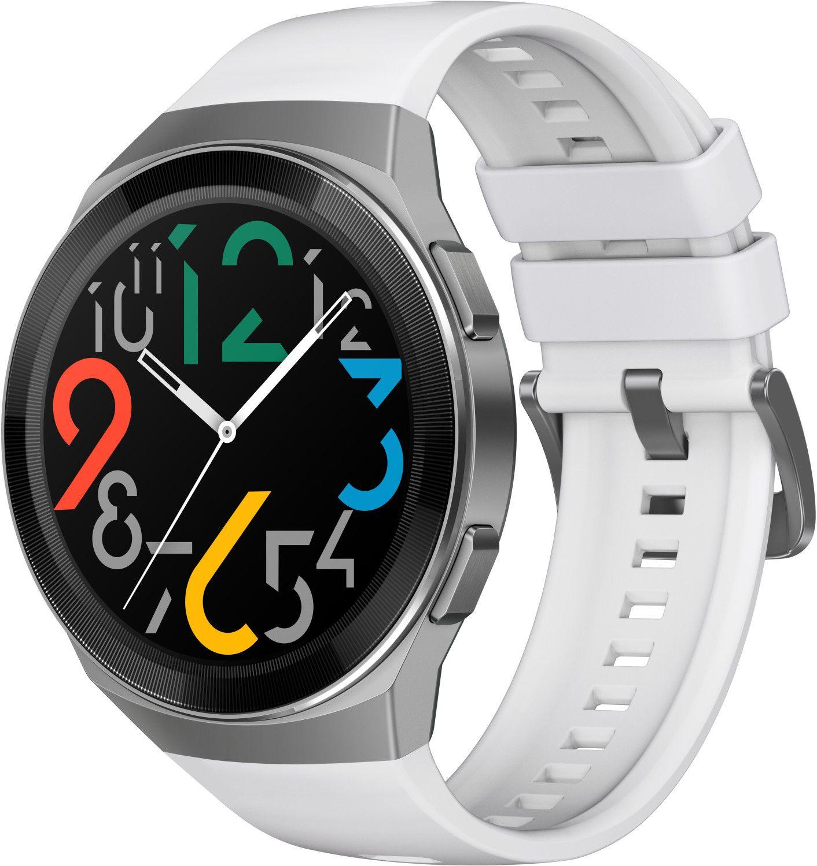 Huawei Watch GT 2e Smartwatch weiß 35mm AMOLED-Display [Cyberport]