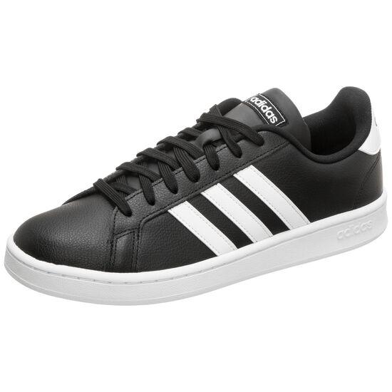 Adidas Grand Court Sneaker (Größen 36/37/38/39/48, Obermaterial Leder, Textilfutter, Gummisohle)