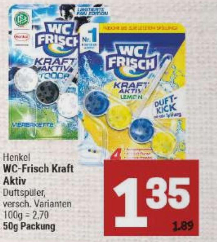 [Marktkauf Minden-Hannover] Wc Frisch Kraft Aktiv mit Coupon für 0,86€
