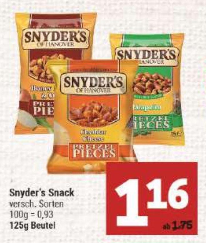 [Marktkauf Minden-Hannover] Snyder's Of Hanover im 125g Beutel im Angebot für 1,16€