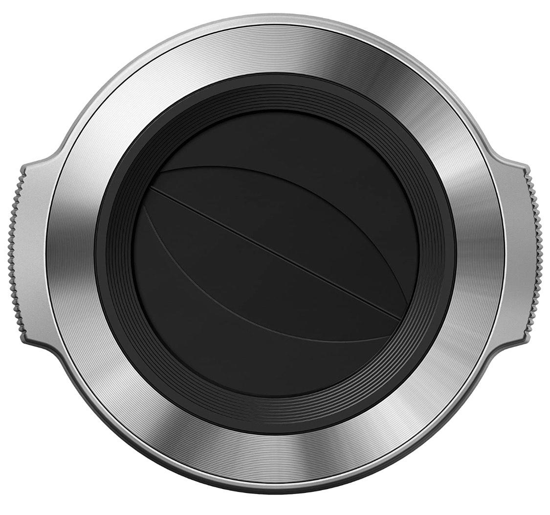 [Amazon Prime] Olympus LC-37C automatischer Objektivdeckel (geeignet für M.Zuiko 14-42 mm EZ) silber