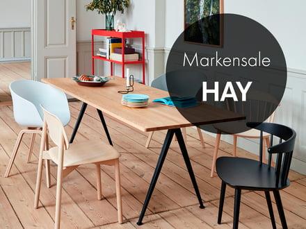 20 % auf alles von HAY, z.B. Copenhague CPH90 Desk, Linoleum-Oberfläche, Design: Bouroullec Brüder [Connox plus]