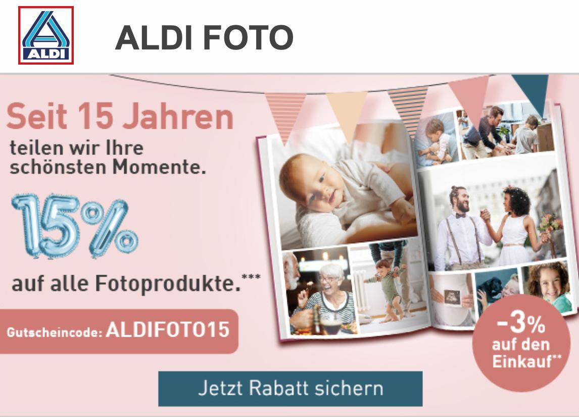 15% bei Aldi-Foto mit Gutscheincode!